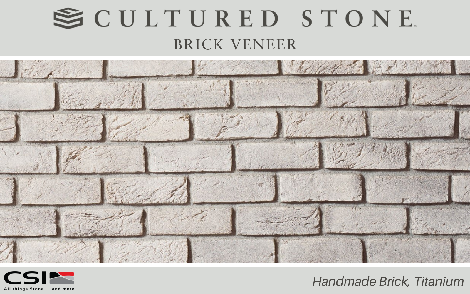 Handmade Brick From Cultured Stone Cultured Stone Brick Veneer Stone