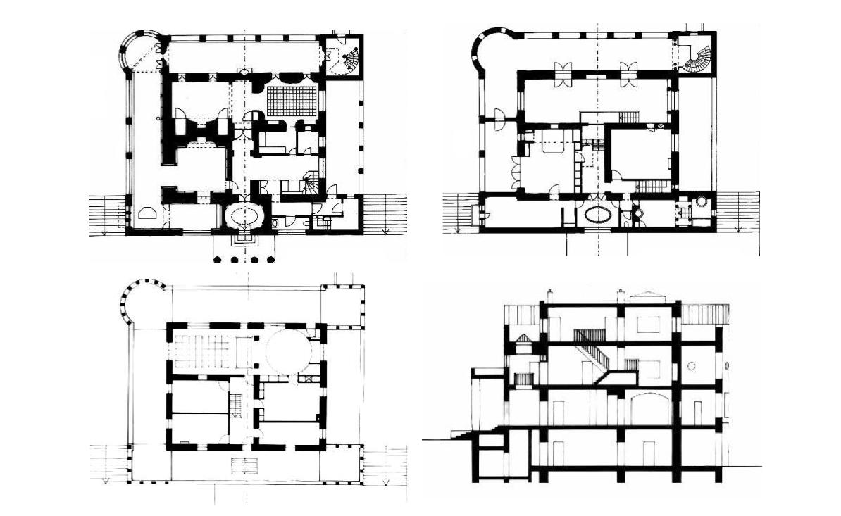 Plans Of Architecture Photo Loos Architecture Villa