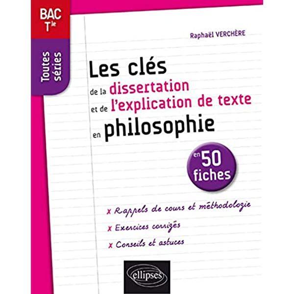 Pdf Les Cls De La Dissertation Et De Lexplication De Texte En Philosophie En 50 Fiches Terminale T Boekhandels