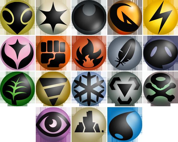 Neo Redux Energy Type Icons by ILKCMP