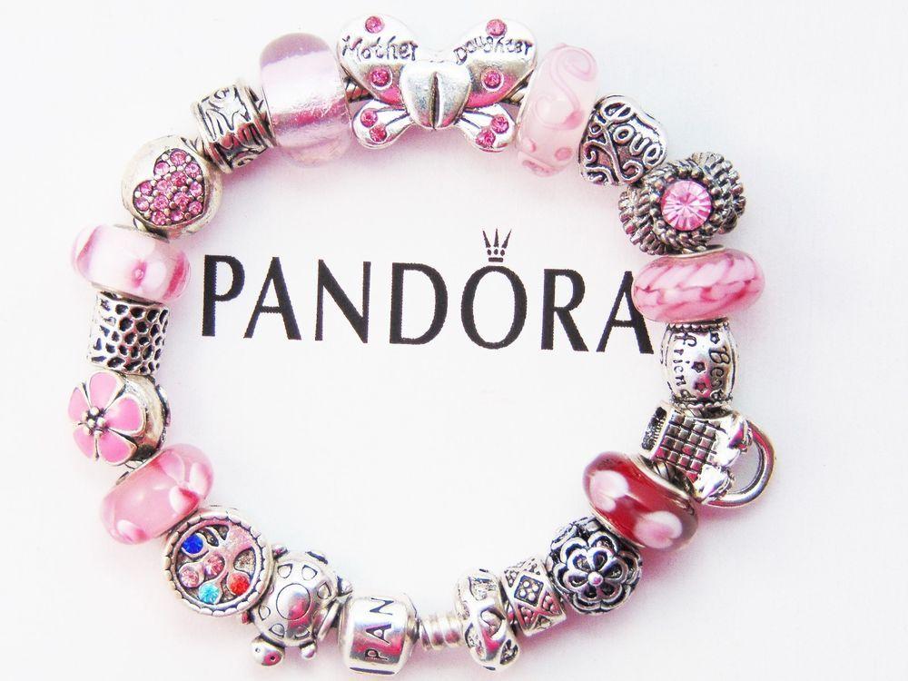 Authentic Pandora Silver Bracelet With