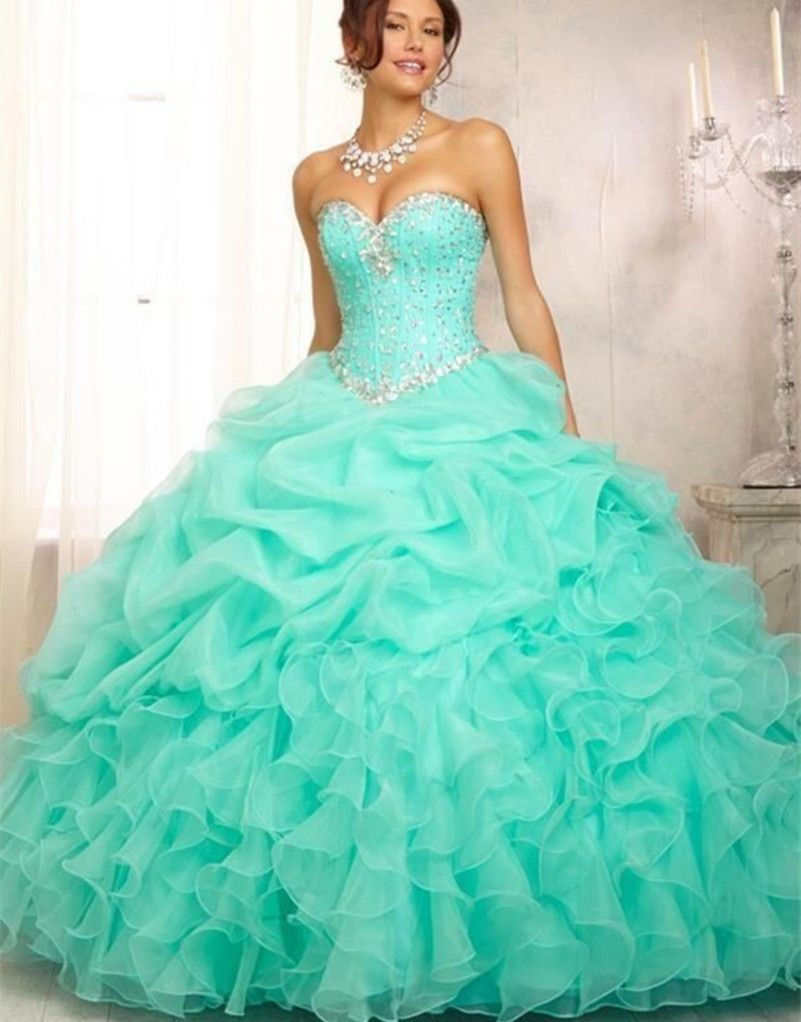 b30af013446a Occasion  Quinceanera Item Type  Quinceanera Dresses Material   Acetate
