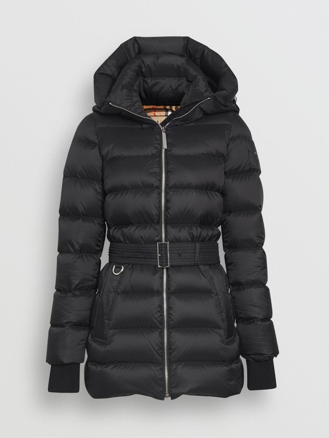 12d98f5d3 Down-filled Hooded Puffer Coat in Dark Racing Green - Women | winter ...