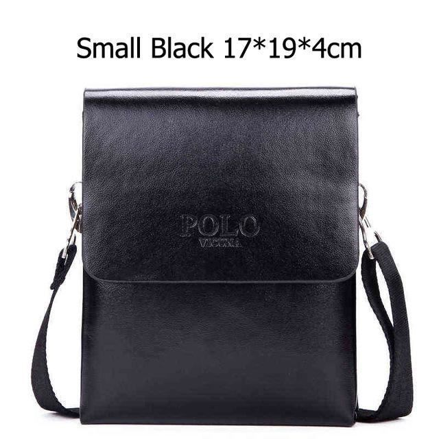 ace631e07c MIOHS VICUNA POLO Hot Sell Brand Solid Double Pocket Soft Leather Men  Messenger