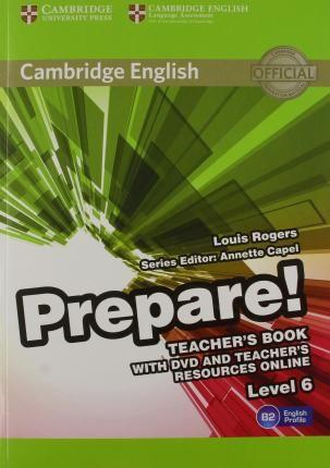 Cambridge English Prepare Level 6 Teacher S Book With Dvd And Teacher S Resources Online Level 6 Uchitel Obrazovanie Nauka