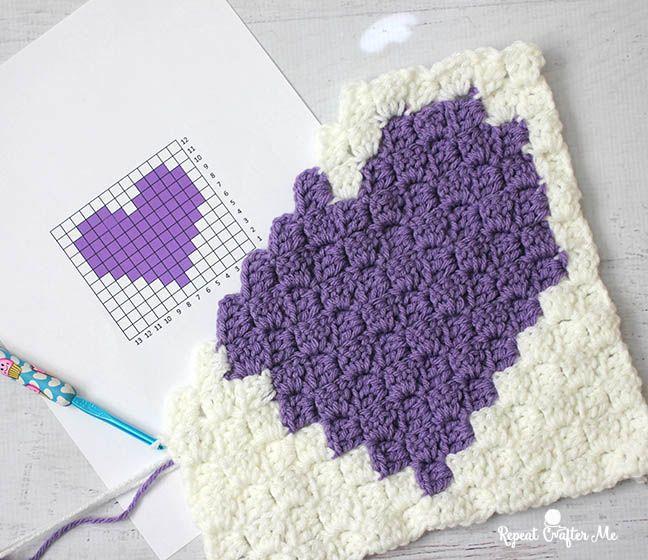 How To Make A Pixel Graph | crochet | Pinterest | Manta y Ganchillo