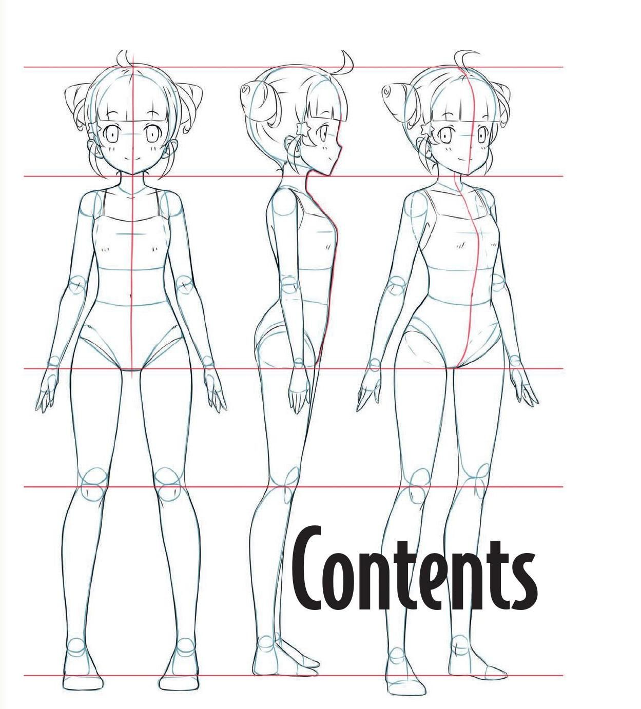 character template drawing
