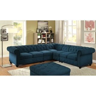 Shop for Furniture of America Sylvana Traditional 2 piece Tufted