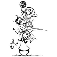 Top 25 \'Nightmare Before Christmas\' Coloring Pages for Your Little ...