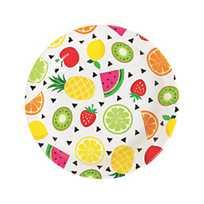 Tutti Frutti Paper Dessert Plates - 8 Ct.   Oriental Trading