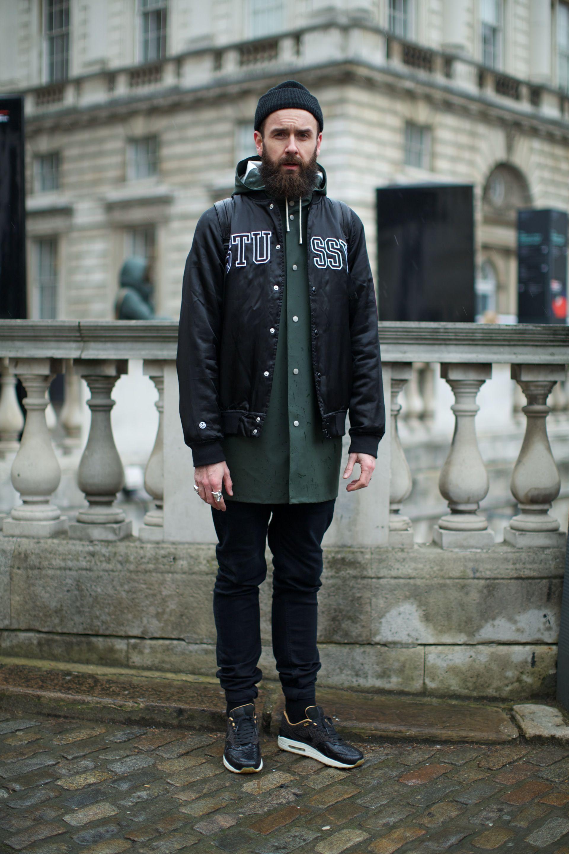 London Men S Fashion Week Spring 2017 Street Style: Street Style At London Fashion Week. Photographs By Marcus