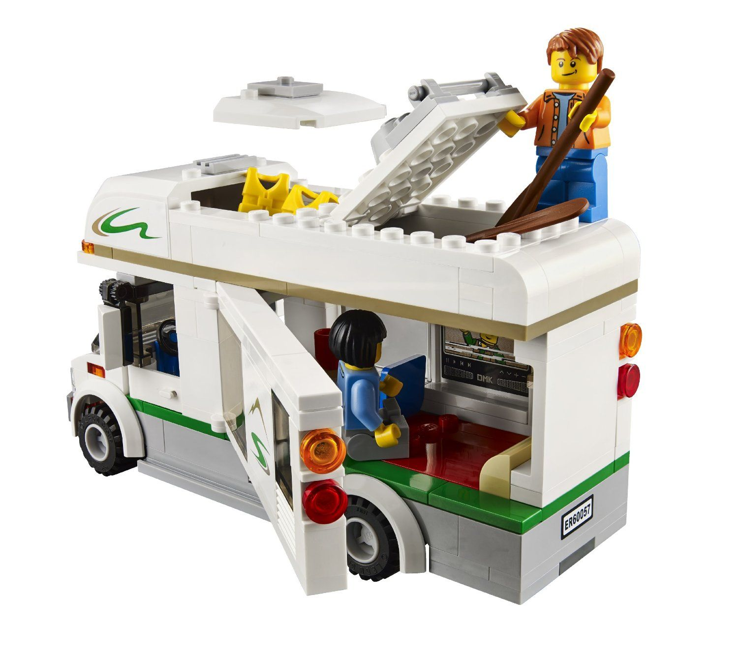 Amazon Lego City Great Vehicles 60057 Camper Httpswww