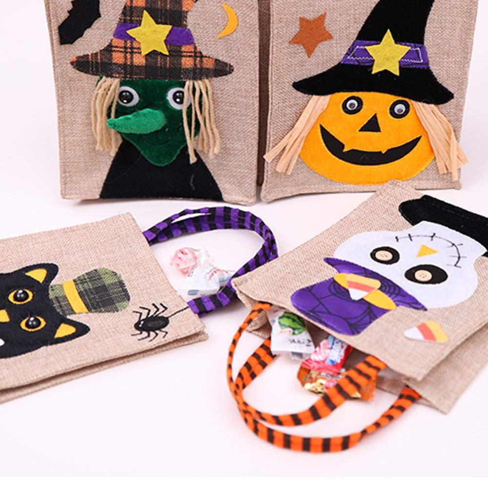 Halloween Storage Basket Hand Bag Yezijin Halloween Cute