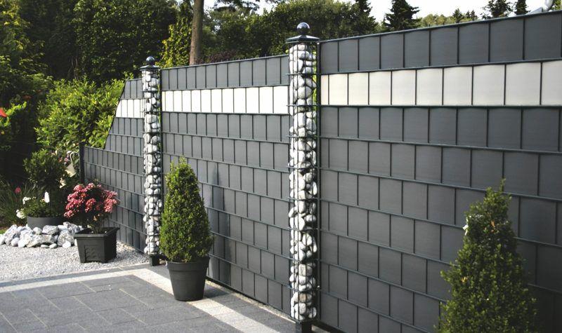 45 effekvolle Ideen für Gartensichtschutz #zaunideen