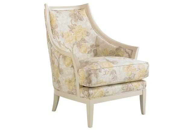 1 699 00 Darwood Floral Accent Chair With Images Furniture