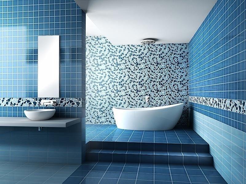 Antico Bagno ~ Arredare un bagno in blu arredare il bagno in blu e tortora