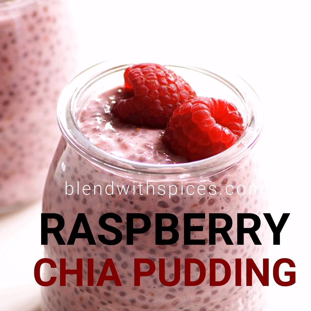 5 Ingredient Raspberry Chia Pudding Recipe