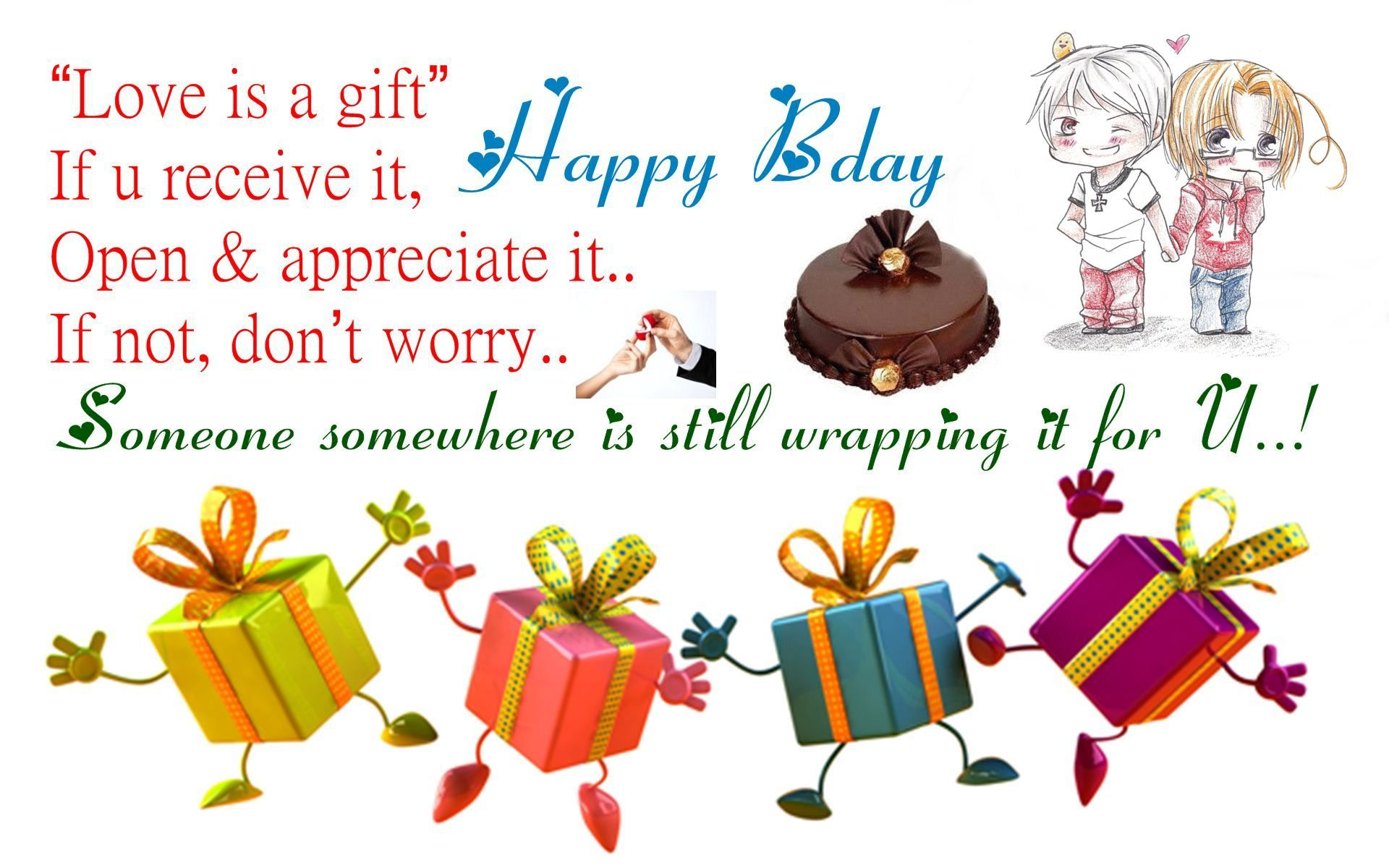 Happy Birthday Messages for Men