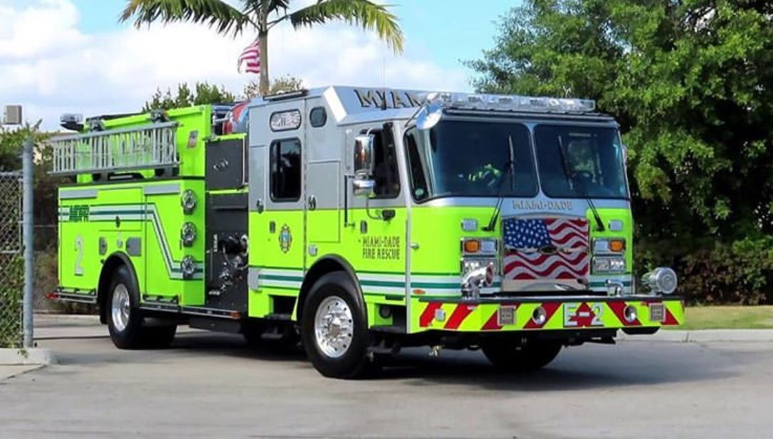 Pin by Jaden Conner on Miami FD Fire trucks, Fire rescue