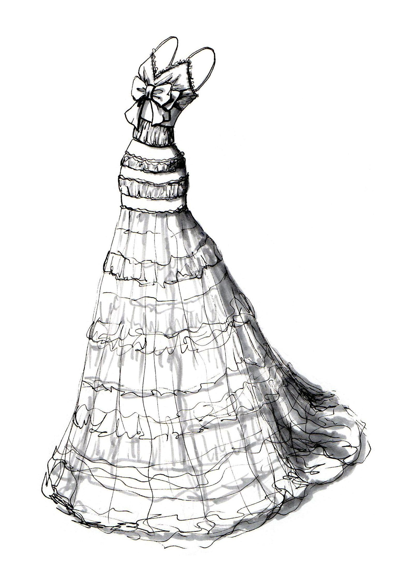Wedding Dress 1596x2246 ShadowsColoring