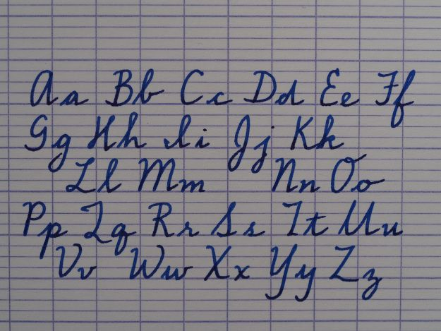 how to use seyes or french ruling for handwriting