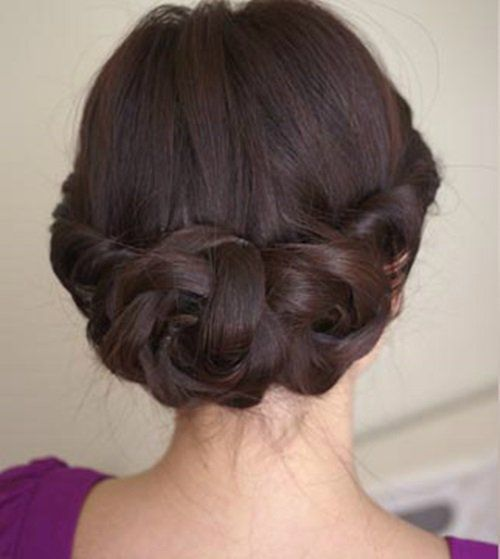 Diy simple and awesome twisted updo hairstyle updo and hair style diy simple and awesome twisted updo hairstyle solutioingenieria Gallery