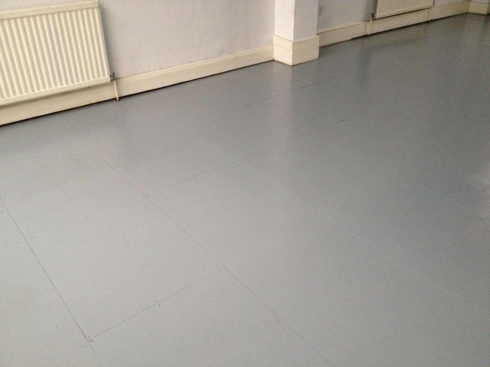 Painted chipboard - Leyland floor paint | Chipboard ...
