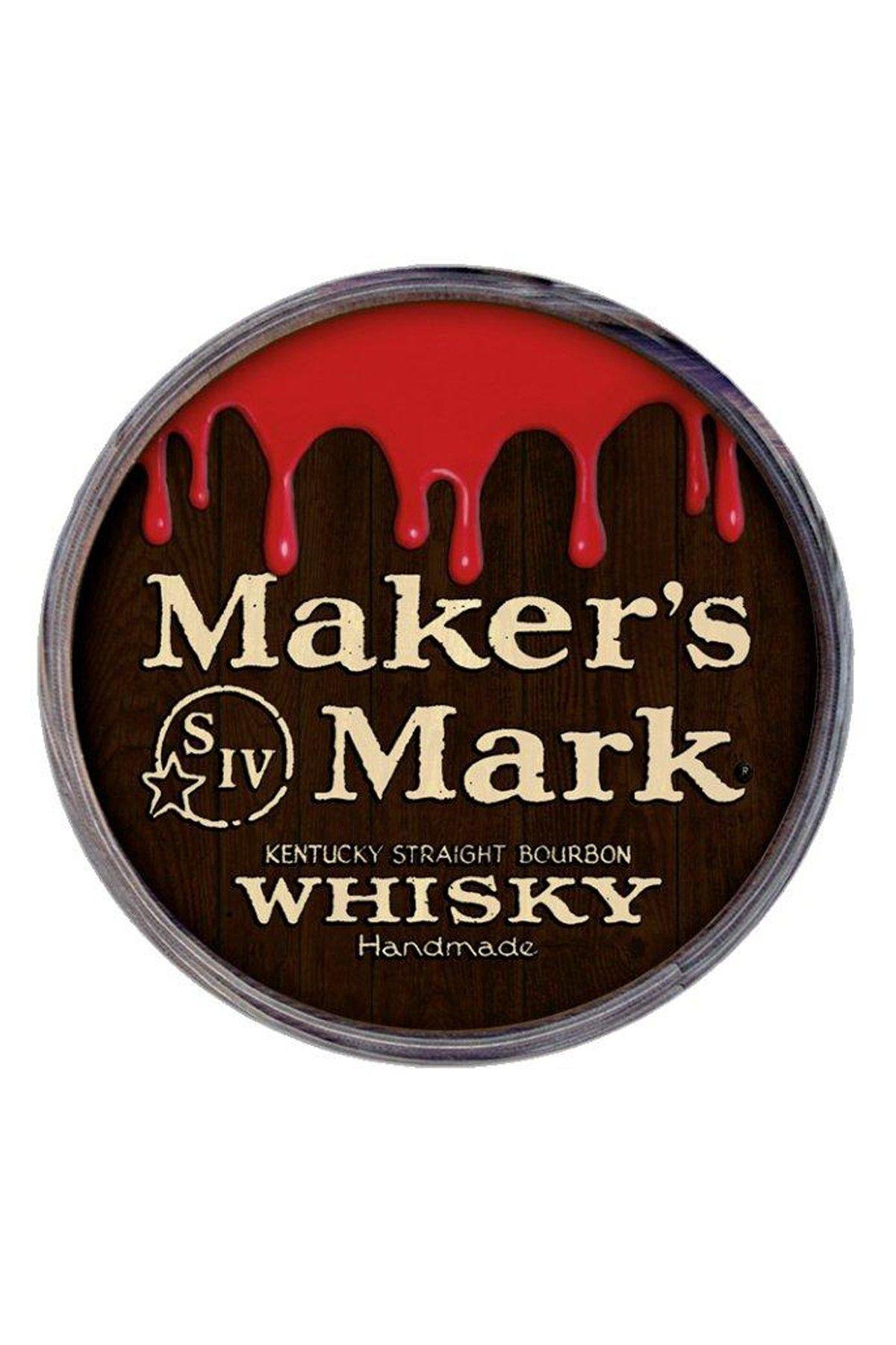 Maker S Mark Barrel End Sign Hautelook Makers Mark Fine Wine And Spirits Barrel Signs