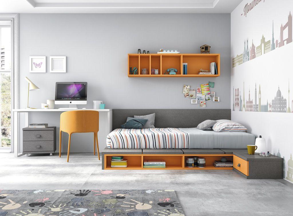 Comprar Tokio cama tatami | Dormitorios juveniles Muebles Rey |Para ...