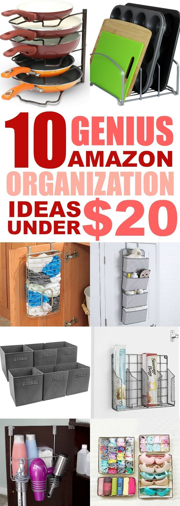Best Home Organizing Ideas From Amazon On A Budget - Savvy Honey