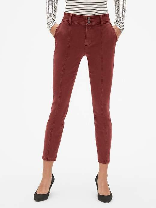 Gap Womens High Rise Skinny Khakis Vintage Palm in 2018  1ce0444f4