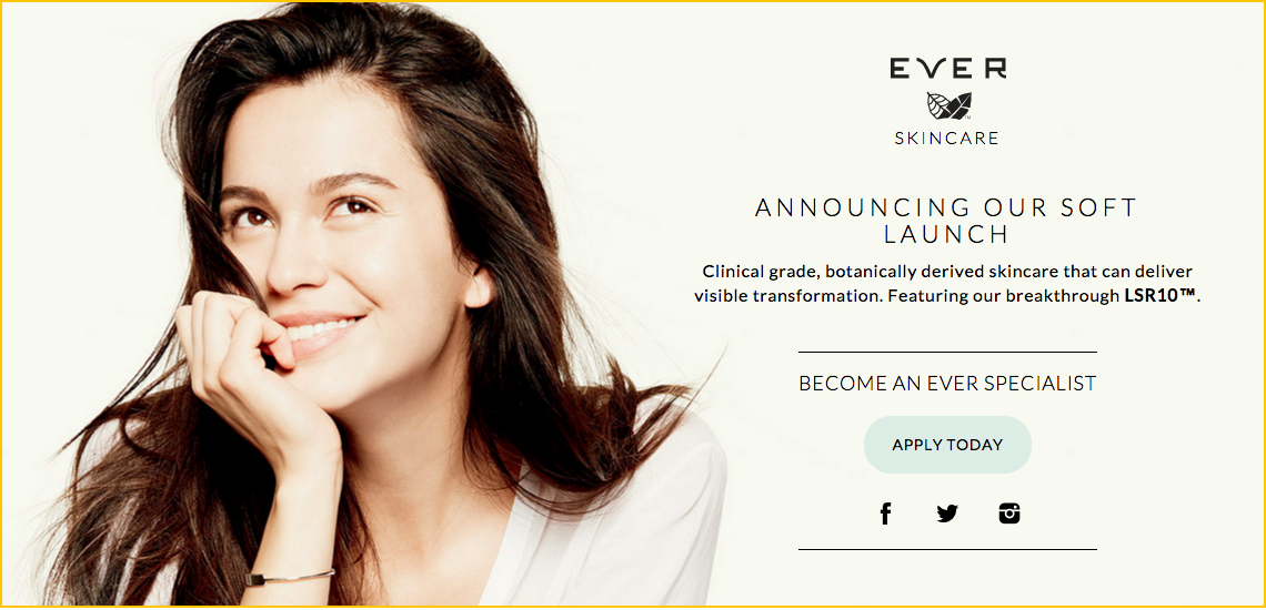 Ever Skincare Become A Specialist Today Softlaunch Consciousbeauty Everskin Skin Care Stella And Dot How To Apply