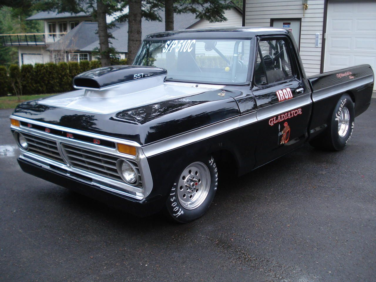 Truck 1977 chevy truck hood : Lets see pics of pro-street & drag truck dents - Ford Truck ...