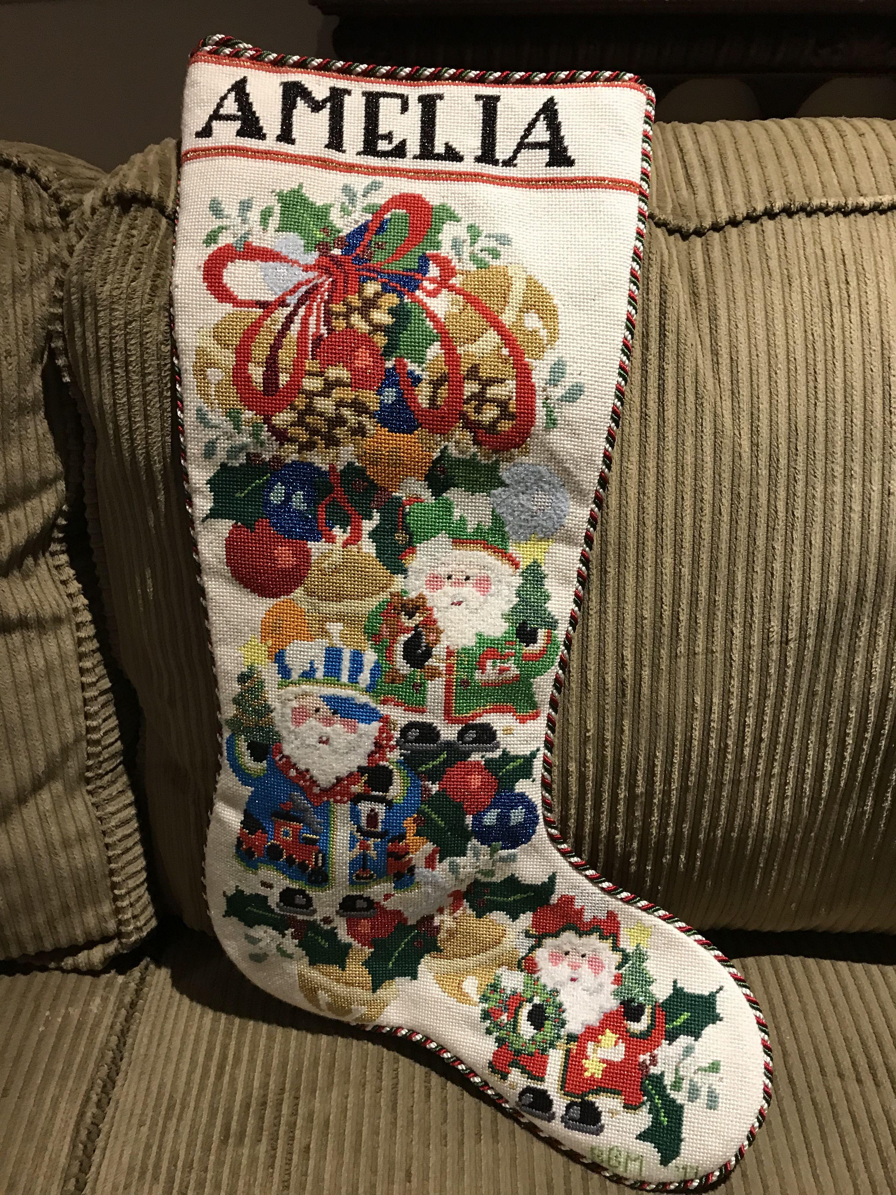 Strictly Christmas Santas Stocking