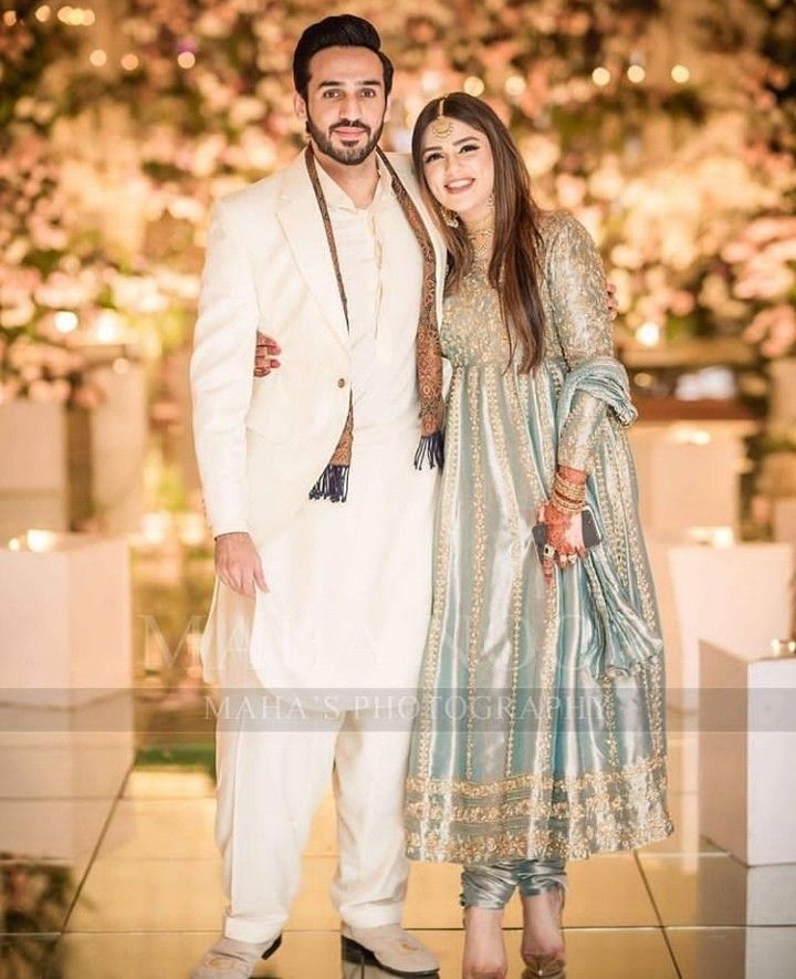 Bride sister and brother in lwa latest bridal dresses