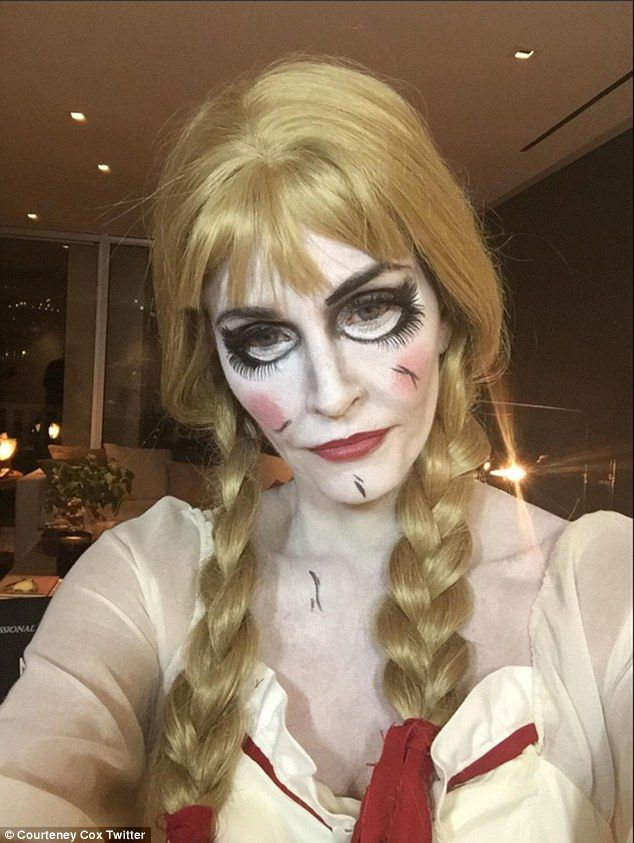 Annabelle Doll Diy Costume