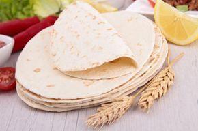 Receta de Tortillas mexicanas de harina de trigo