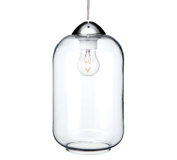 Firstlight Bordeaux 1 Light Ceiling Pendant Light Polished Chrome Finish With Clear Glass Shade 5906ch Pendant Lighting Ceiling Pendant Lights Jar Lights