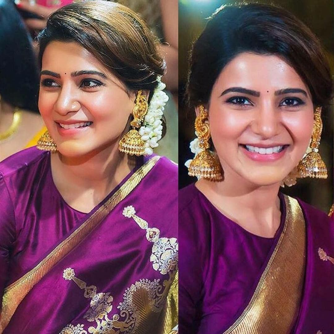 Pin By Rr Murthy Ramalingam On Saree Saree Hairstyles Wedding Blouse Designs Hair Styles
