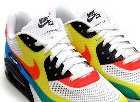 Clínica hecho Eliminar  Nike Air Max 90 Hyperfuse QS 'Olympic' - SneakerNews.com | Nike air max, Nike  air max 2016, Nike air max 90
