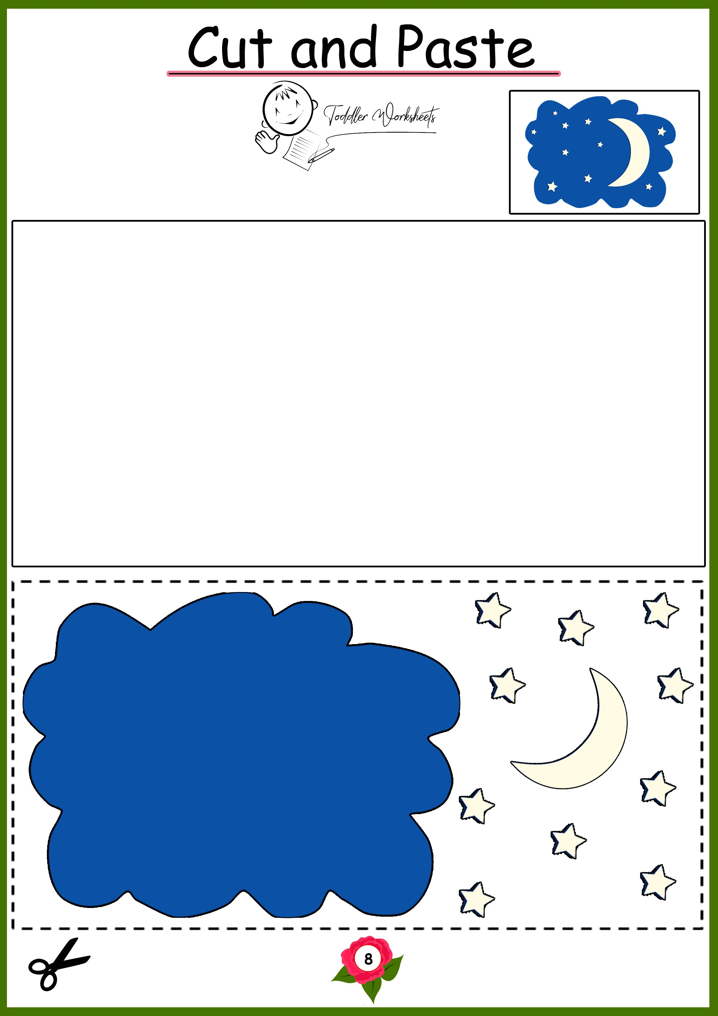 Pin On Preschool Cutting Worksheets