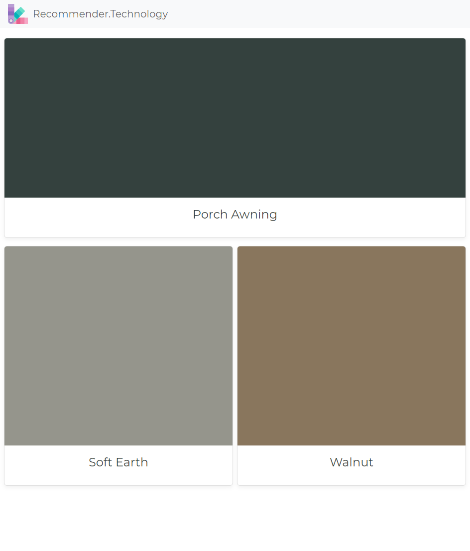Porch Awning Soft Earth Walnut Ralph Lauren Paint Colors