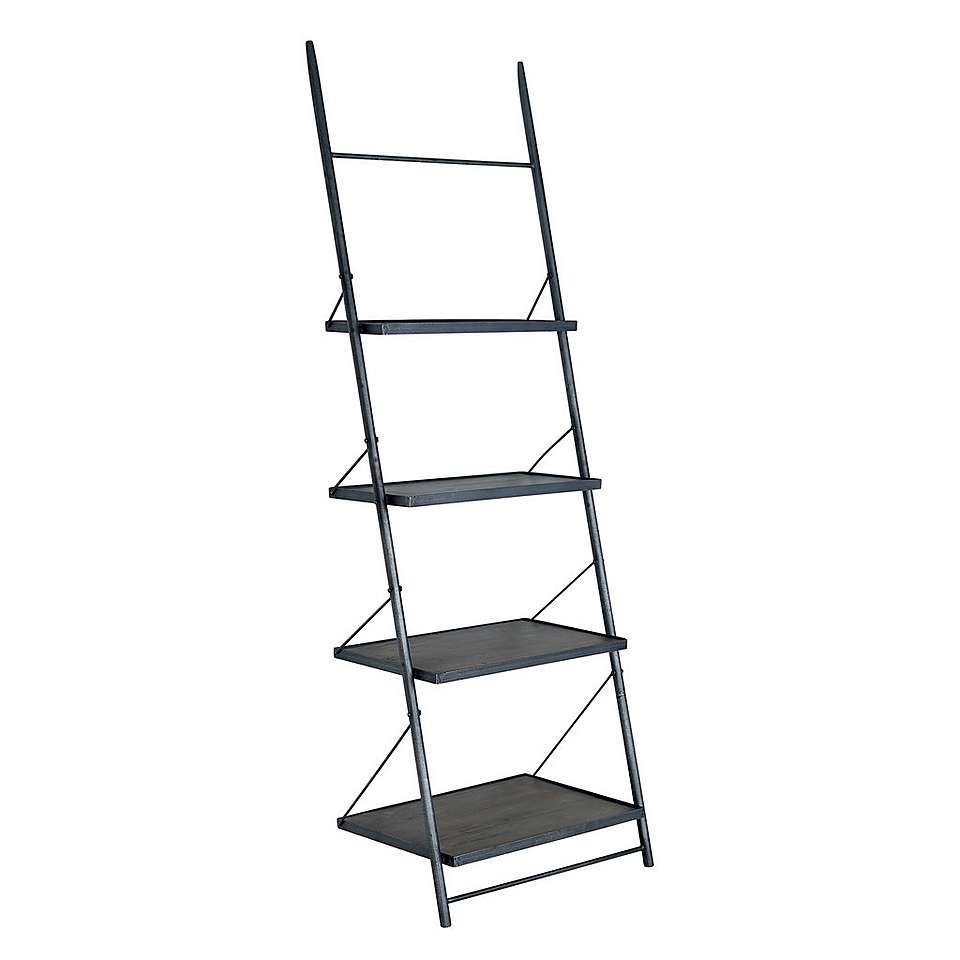 Farringdon Acacia Ladder Bookcase Dunelm Bookcase Ladder Bookcase Living Room Collections