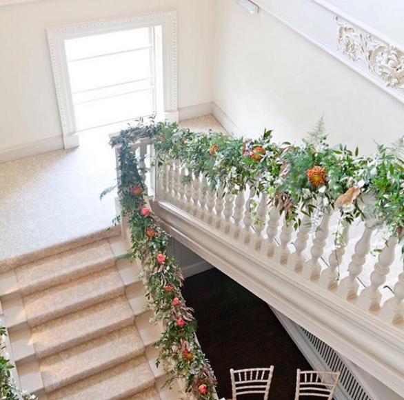 Morden Hall staircase