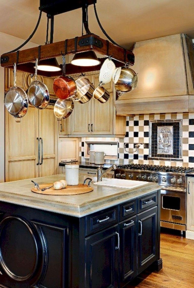 marvellous creative kitchen curtain ideas   75 MARVELOUS HANGING RACK KITCHEN DECOR IDEAS   Kitchen ...