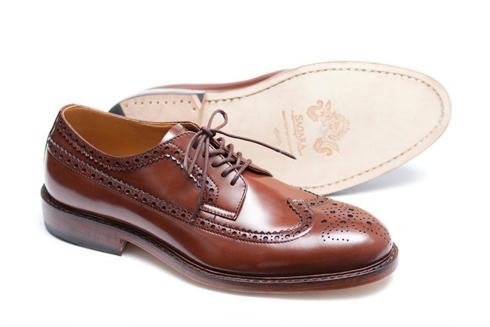 e94ff271713a Sagara Indonesia Chestnut Capital Longwing SHoes