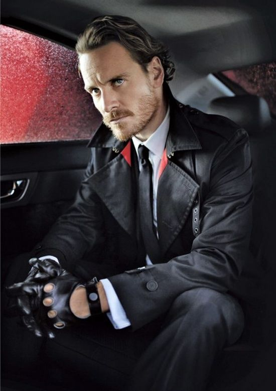Michael Fassbender. Loved watching this man play Magneto!