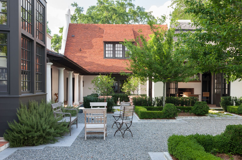 Kaiser Trabue Landscape Architecture Architecture Courtyard Architecture Custom Home Builders