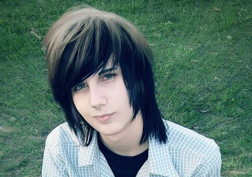 Emo Hairstyle Boy Hairstyles Scene Hair Haircut Pictures