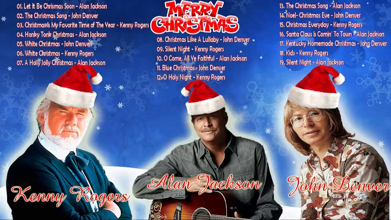 news videos more alan jacksonkenny rogersjohn denver christmas album 2018 country christmas songs collection hit music videos on youtube music